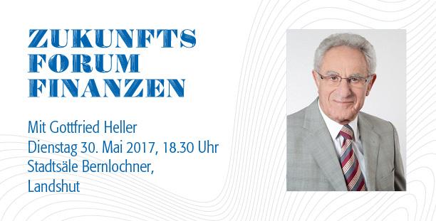 21. Anlegerforum 2017: Zukunftsforum Finanzen